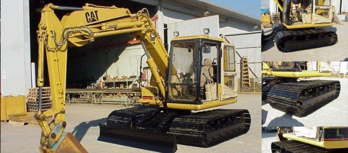 image of low ground pressure excavator