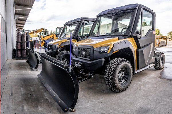 Cat UTVs for Snow Removal