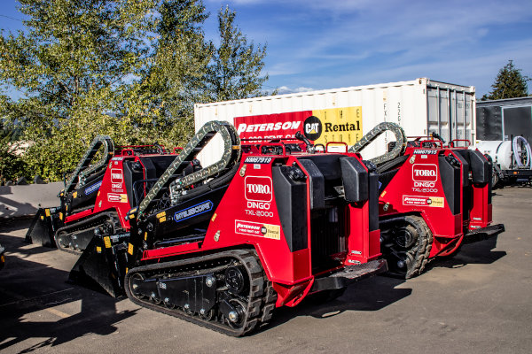 Toro Dingo Loaders for Rent