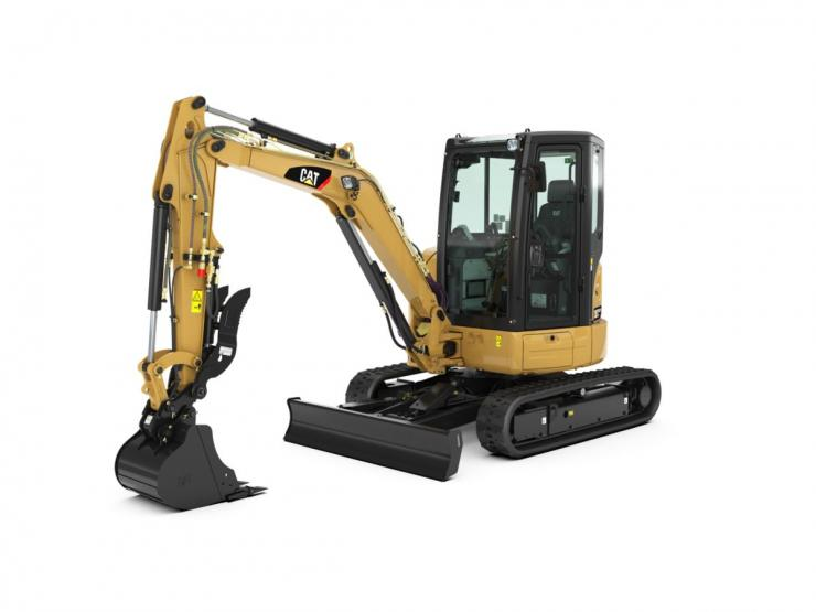 303.5E2 CR Mini Hydraulic Excavator