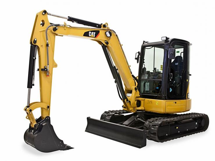305E2 CR Mini Hydraulic Excavator with Swing Boom