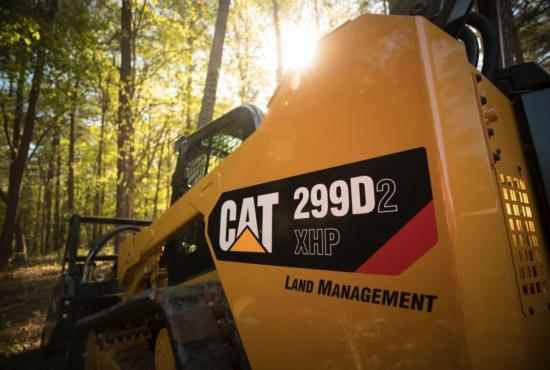 299D2 XHP Land Management Compact Track Loader