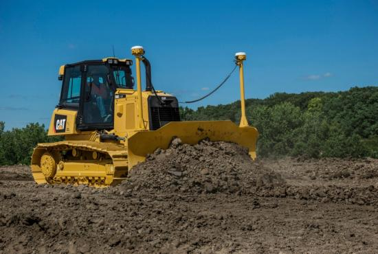 D6K2 Dozer Takes on a Grading Job