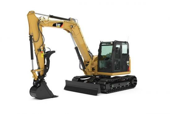 308E2 CR Mini Hydraulic Excavator with Swing Boom